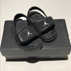 2b89f4503403 Jordan Shoes - Jordan HYDRO 2 TD size 5C Velcro sandals black